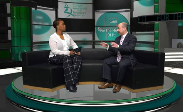 "Attorney Mark Aiello Interviewed on ""For the Health of It"" by the Cancer Awareness Resource Network aka CARN Hosted by Tiwana Carmichael"