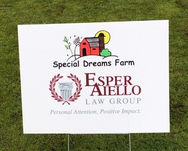 Special Dreams Farm Hole Sponsorship